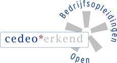 Logo Cedeo erkend open bedrijfsopleidingen