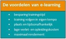 voordelen e-learning